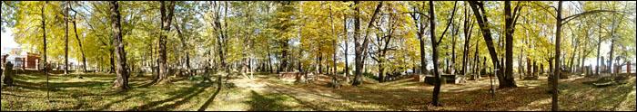 Panorama Stary Cmentarz